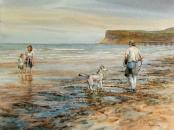 On Saltburn Beach