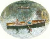 Rowers on the River Wear
